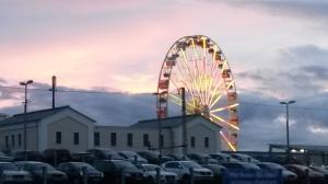 Riesenrad beim Sonnenuntergang... traumhaft, oder?