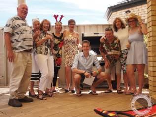 Familie in Australien + Grill!