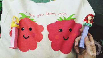 I like you BERRY much - Sandra :D